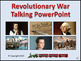 Revolutionary War Talking PowerPoint & Four Puzzle Pack