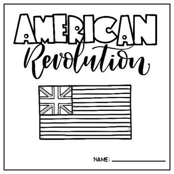 Revolutionary War Target Blank Book