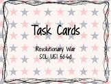 Revolutionary War Task Cards