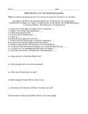 Revolutionary War Test 3-6
