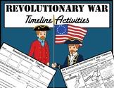 Revolutionary War Timeline Activities