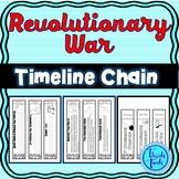 Revolutionary War Timeline Chain Links : Five options
