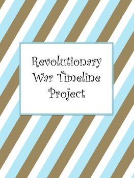 Revolutionary War Timeline Project