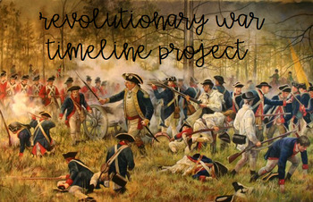Revolutionary War Timeline Project w/Rubric