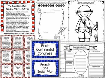 American Revolutionary War Unit - Social Studies / History
