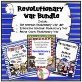 Revolutionary War Unit and Interactive Notebook BUNDLE