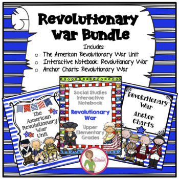 Revolutionary War Unit and Interactive Notebook BUNDLE