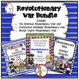Revolutionary War Unit / Interactive Notebook  / Anchor Charts BUNDLE