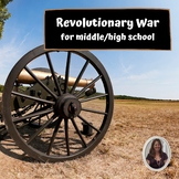 Revolutionary War Unit for Special Education