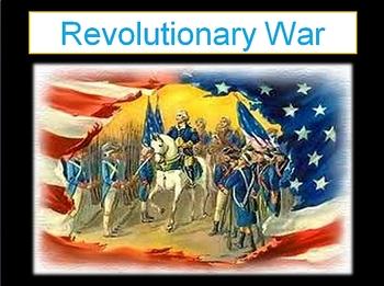 Revolutionary War Vocabulary PPT
