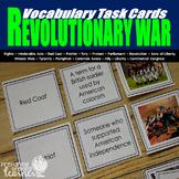 Revolutionary War Vocabulary Task Cards