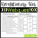 Revolutionary War Webquest
