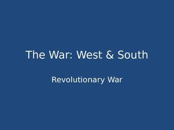 Revolutionary War: West & South