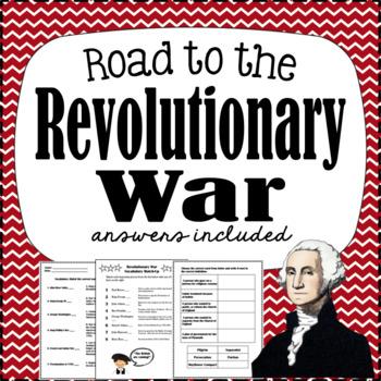 Revolutionary War Worksheets