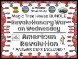Revolutionary War on Wednesday   American Revolution : Magic Tree House BUNDLE