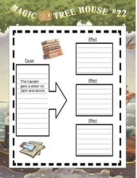 MAGIC TREE HOUSE #22 Revolutionary War on Wednesday ELA Study Guide