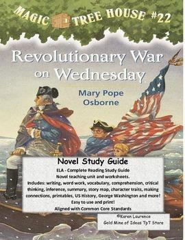 MAGIC TREE HOUSE #22 Revolutionary War on Wednesday ELA St
