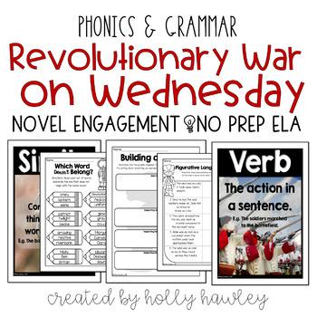 Revolutionary War on Wednesday NO PREP (ELA)