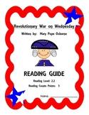 Revolutionary War on Wednesday Reading Guide