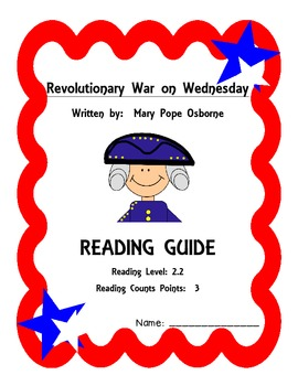 Revolutionary War on Wednesday Reading Guide