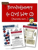 American Revolution Revolutionary War to Civil War Resources Bundled