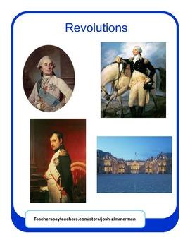 Revolutions (American, French, Napoleon) Unit