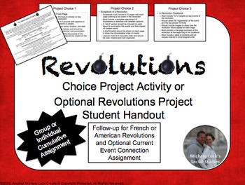 Revolutions Project Cumulative Activity French & American Revolutions