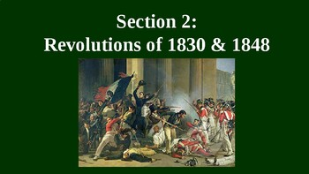 Revolutions of 1830 and 1848 PowerPoint