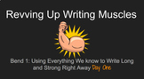 Revving Up Writing Muscles/ Lucy Caulkins Writers Workshop