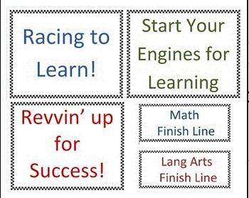 Revving up for Success (Race Car Classroom Theme)