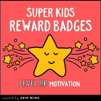 Super Kids Reward Badges