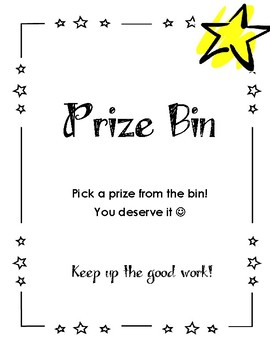 Reward Binder - Prize Binder Options - DOJO Rewards