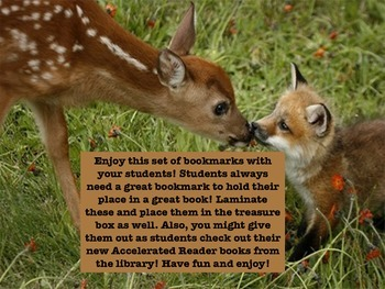 Reward Bookmarks: What Does the Fox Say?