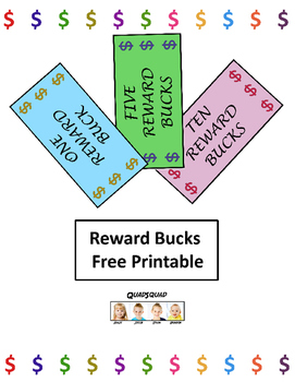 photograph relating to Printable Reward Bucks known as Advantage Dollars Worksheets Instruction Products Lecturers Spend