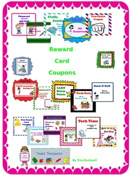 Reward Card Coupons