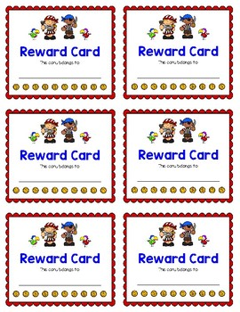 Reward Card {Pirate}