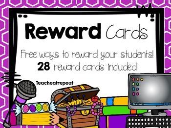 Reward Cards
