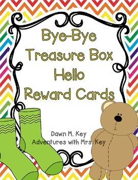 Reward Cards ~Bye-Bye Treasure Box Hello Reward Cards