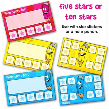 Reward Cards | Reward Punch Cards