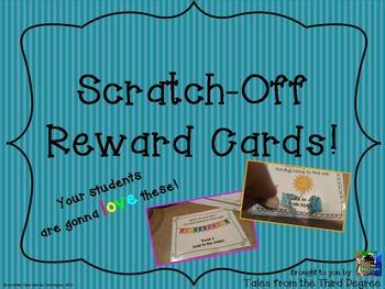 Reward Cards - Scratch and Win!