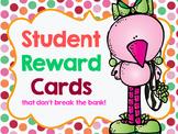 Reward Cards....That don't break the bank! *EDITABLE*