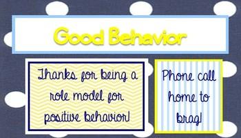 Reward Cards for High School Students 2
