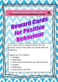 Reward Cards for Positive Behaviour