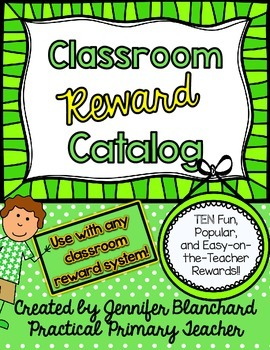 Reward Catalog - Use with any classroom management system