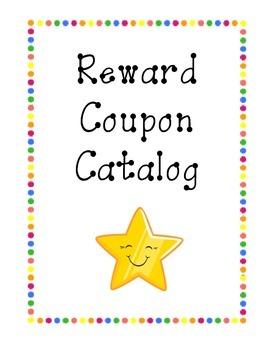 Reward Catalog- Polka Dots
