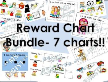 Reward Chart Bundle of 7 charts!