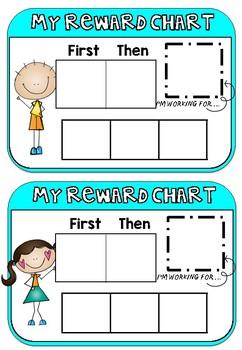 Reward Chart - First Then