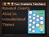 Reward Chart Sticker Chart Alice in Wonderland Theme