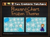 Reward Chart Sticker Chart Frozen Theme