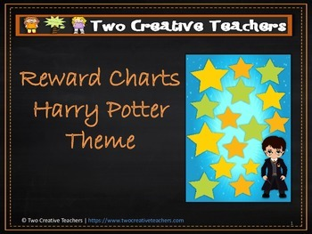 Reward Chart Sticker Chart Harry Potter Theme